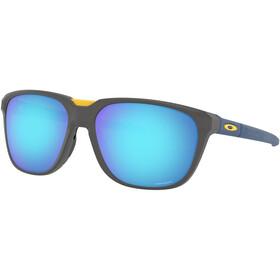 Oakley Anorak Gafas de Sol, matte dark grey/prizm sapphire